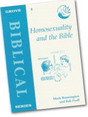 Cover: B 1 Homosexuality and the Bible