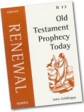 Cover: R 13 Old Testament Prophecy Today
