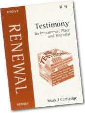 Cover: R 9 Testimony: Its Importance, Place and Potential