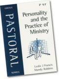 Cover: P 97 Personality and the Practice of Ministry: A Study in Empirical Theology