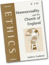 Cover: E 132 Homosexuality and the Church of England: The position following 'Some Issues in Human Sexuality'