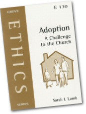 Cover: E 130 Adoption: A Challenge for the Church