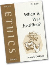 Cover: E 128 When Is War Justified?