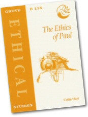 Cover: E 115 The Ethics of Paul