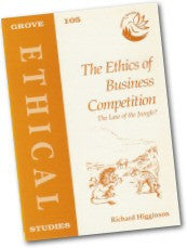 Cover: E 105 The Ethics of Business Competition: The Law of the Jungle?