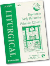Cover: JLS 43 Baptism in Early Byzantine Palestine 325-451