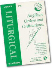 Cover: JLS 39 Anglican Orders and Ordinations