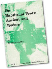 Cover: JLS 29-30 On Baptismal Fonts: Ancient and Modern