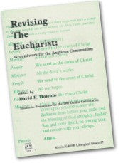Cover: JLS 27 Revising the Eucharist: Groundwork for the Anglican Communion