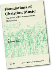 Cover: JLS 22-23  Foundations of Christian Music: The Music of Pre-Constaninian Christianity