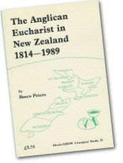 Cover: JLS 21 The Anglican Eucharist in New Zealand 1814-1989