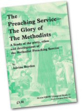 Cover: JLS 17 The Preaching Service - The Glory of The Methodists