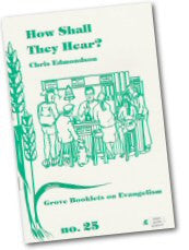 Cover: Ev 25 How Shall They Hear?