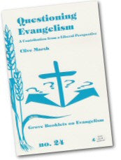 Cover: Ev 24 Questioning Evangelism: A Contribution from a Liberal Perspective