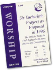 Cover: W 136 Six Eucharistic Prayers as Proposed in 1996: The Official Texts for Final Approval with Introduction and Commentary