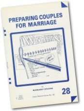 Cover: P 28 Preparing Couples for Marriage