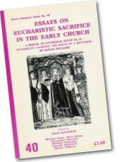 Cover: LS 40 Essays on Eucharistic Sacrifice in the Early Church