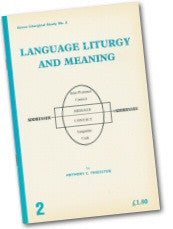 Cover: LS 2 Language, Liturgy and Meaning
