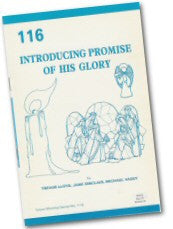 Cover: W 116 Introducing Promise of His Glory