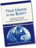 Cover: X 35 True Union in the Body?