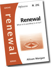 Cover: R 26 Renewal: What is it and what is it for?