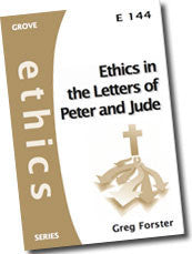 Cover: E 144 Ethics in the Letters of Peter and Jude