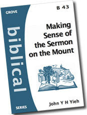 B 43 Making Sense of the Sermon on the Mount