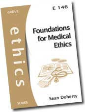 Cover: E 146 Foundations for Medical Ethics