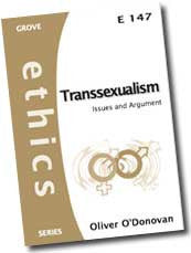 Cover: E 147 Transsexualism: Issues and Argument