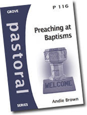 Cover: P 116 Preaching at Baptisms