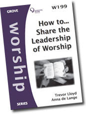 W 199 How to?¢?Ǩ¬¶Share the Leadership of Worship