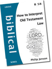 Cover: B 58 How to Interpret Old Testament Law