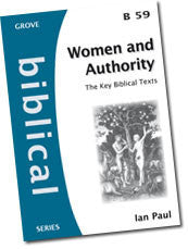 Cover: B 59 Women and Authority: The Key Biblical Texts