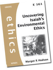 Cover: E 161 Uncovering Isaiah's Environmental Ethics