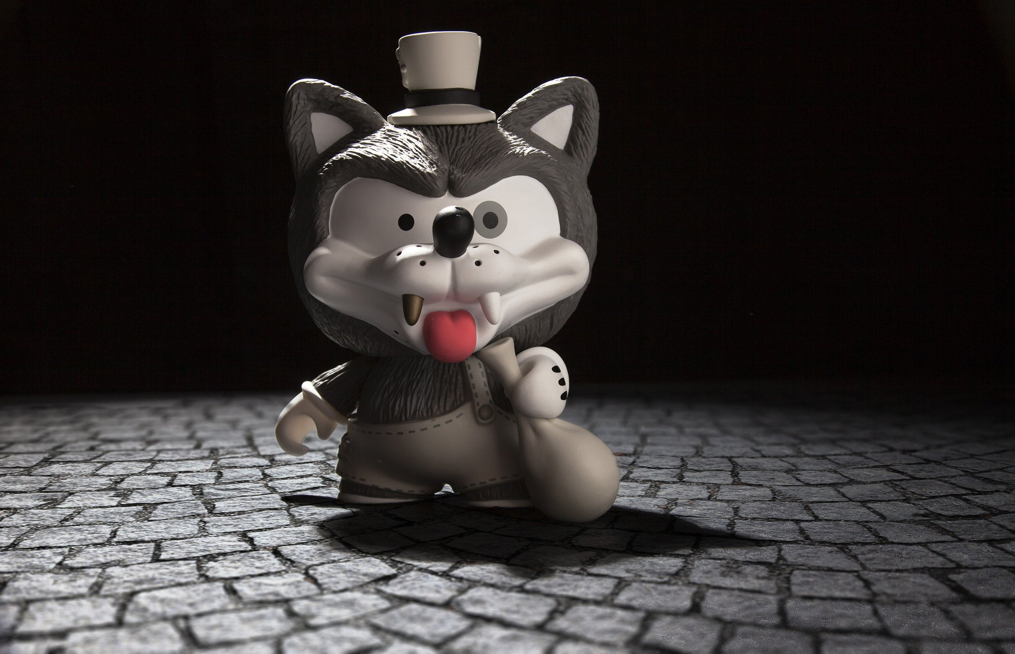 NEW Willy the Wolf Medium Figure by Shiffa Available today at Kidrobot.com