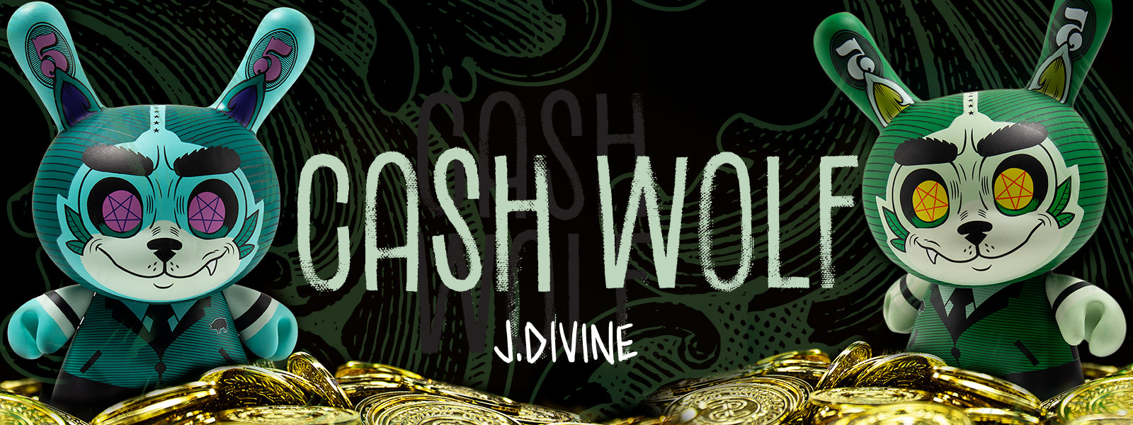 Josh Divine Toys, Art Figures & Collectibles by Kidrobot