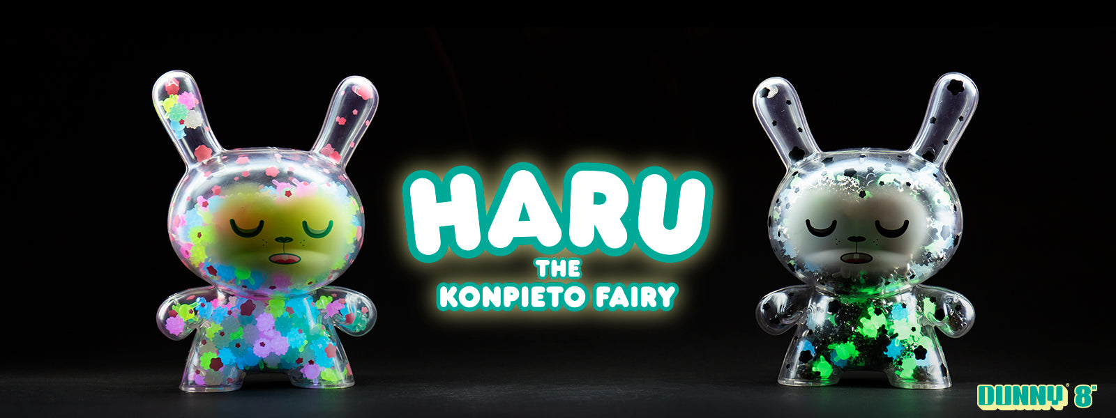 "Haru the Konpieto Fairy 8"" Dunnys - Kidrobot Dunny Art Figures"