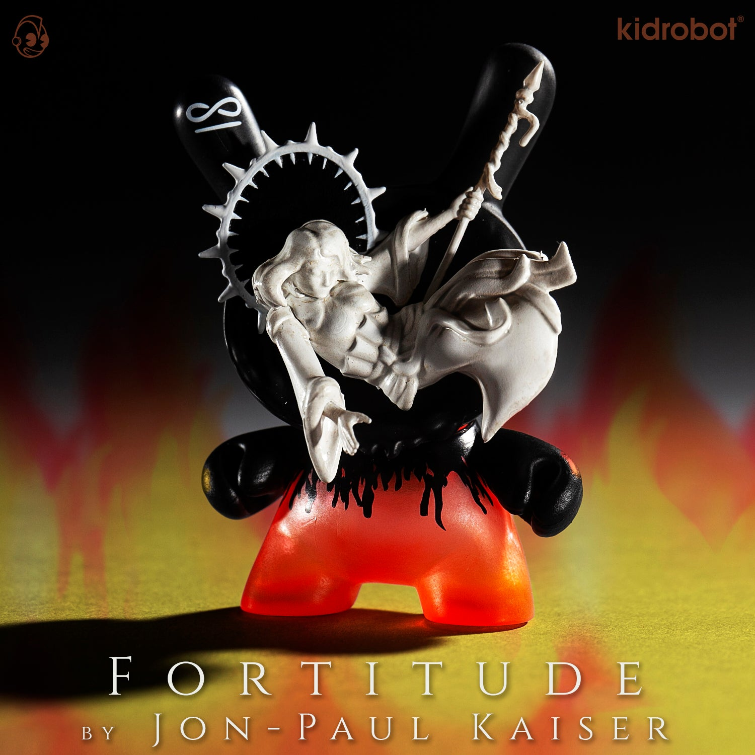 Fortitude Dunny by Jon-Paul Kaiser - Arcane Divination The Lost Cards - Kidrobot