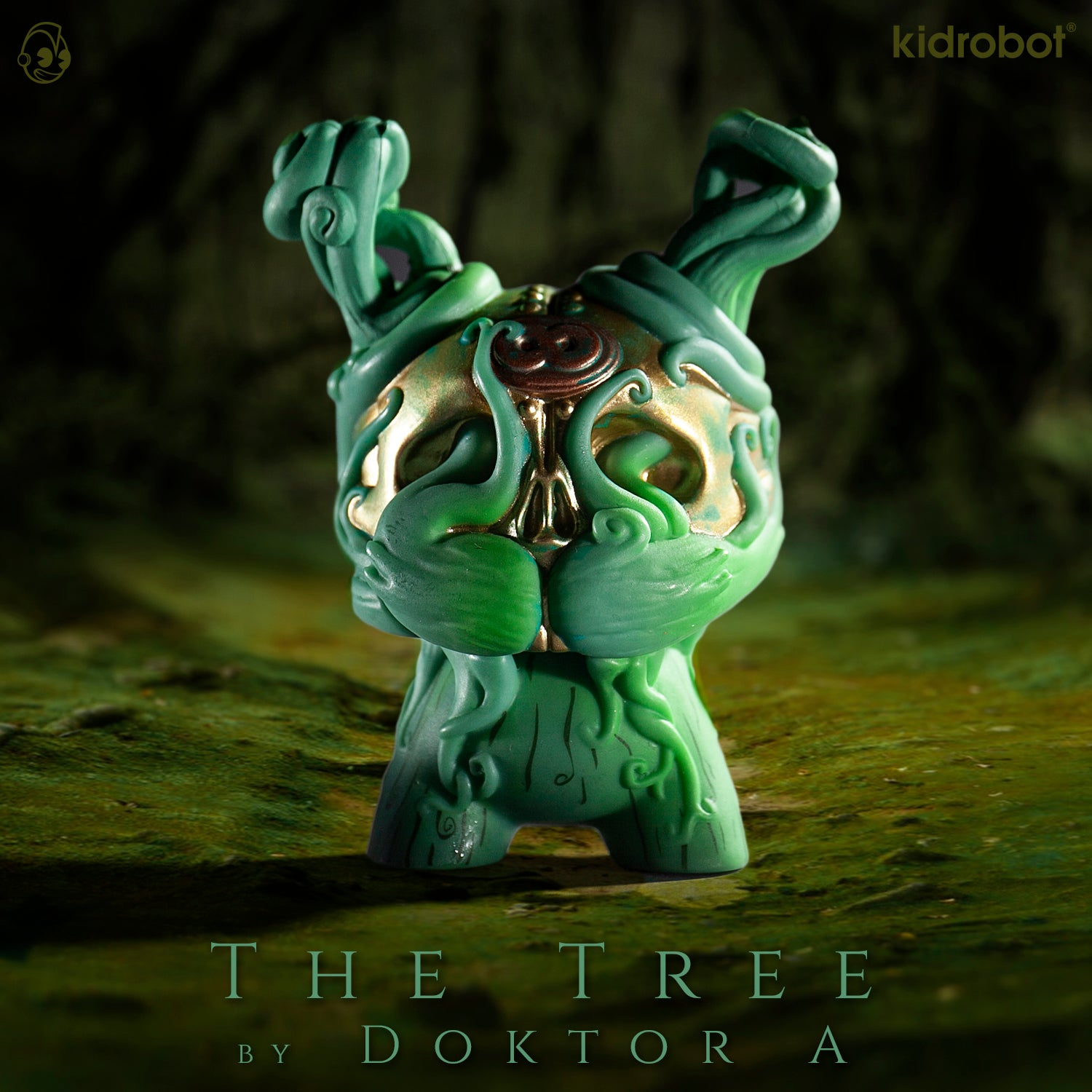 The Tree Dunny by Doktor A - Arcane Divination The Lost Cards - Kidrobot