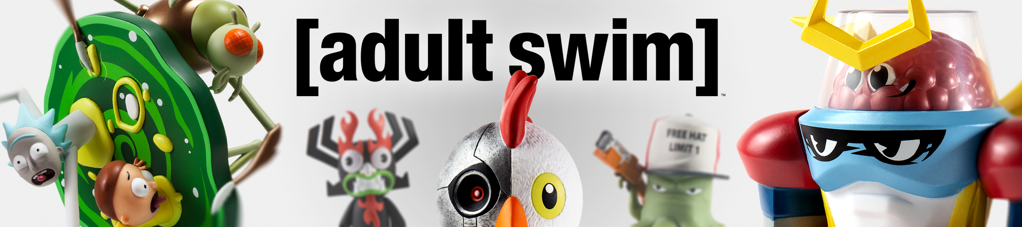 Adult Swim Toys, Figures and Art by Kidrobot