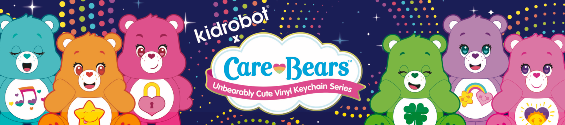 Care Bears by Kidrobot
