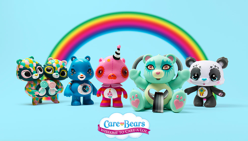 Care Bears Artist Series Figures by Kidrobot