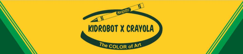 Crayola Toys, Art Figures and Collectibles by Kidrobot