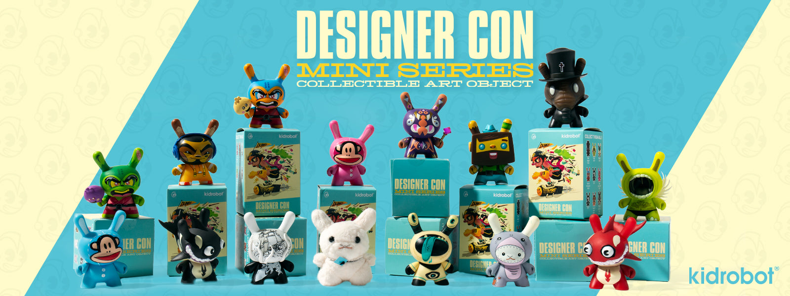 Dunny Art Figures by Kidrobot - Designer Con DCON Dunny Mini Series