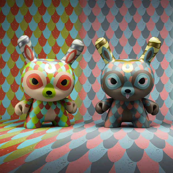 The Curly Horned Dunnylope by Horrible Adorables x Kidrobot