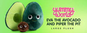 Yummy World Eva the Avocado Plush - Kidrobot