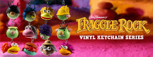 Fraggle Rock Collectible Keychains by Kidrobot - Jim Henson