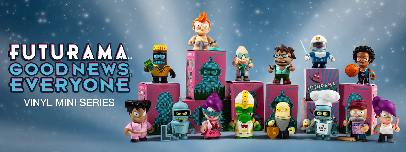 Futurama Toys, Figures and Collectibles by Kidrobot