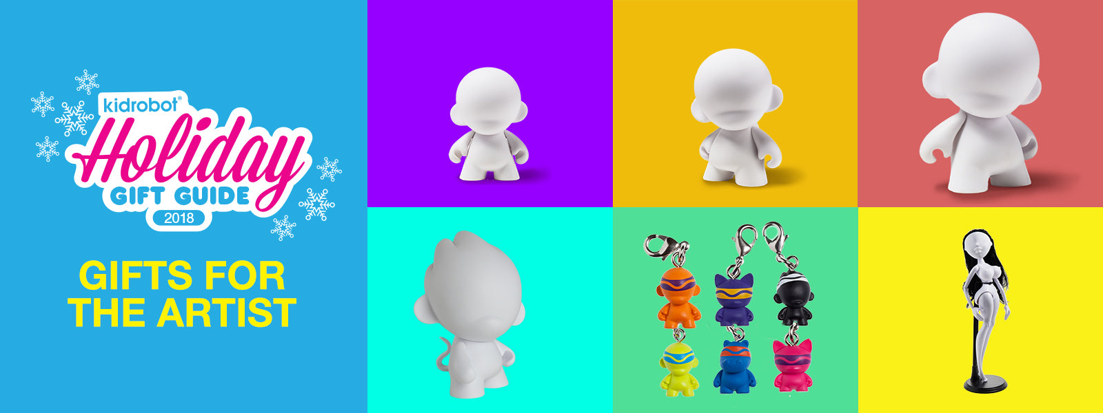 Kidrobot Holiday Gift Guide 2018: Gifts for the Artist