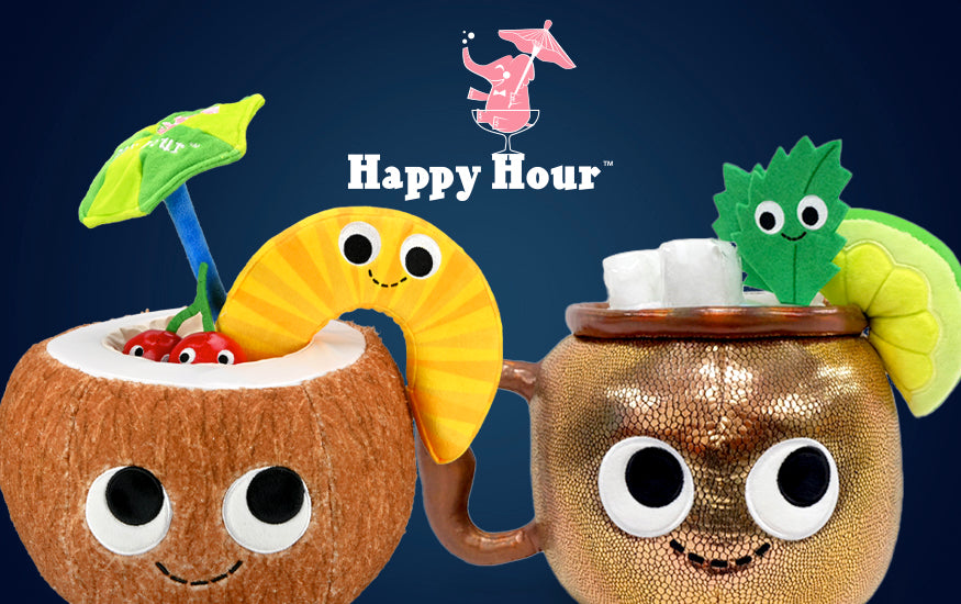 Happy Hour Plush by Kidrobot